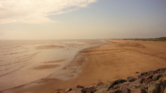 Skegness, UK: Looking towards Gibraltar Point