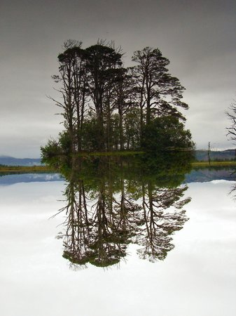 Scotland, UK: Loch and Reflection