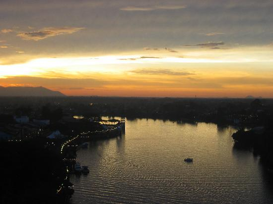 Sarawak, Malaysia: View of Kuching Waterfront