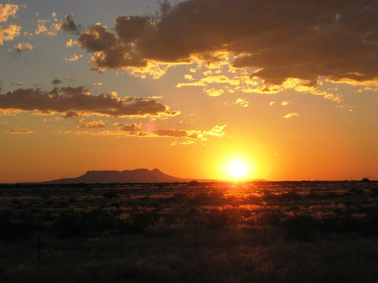 Namibie : Sunset