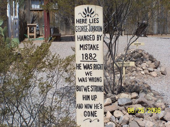 funny tombstones. quot;Love Boothill and Tombstone,