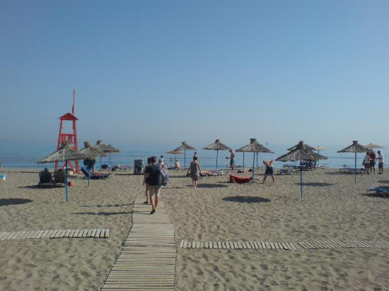 Amoudara, Griechenland: Plage de l&#39;Hotel