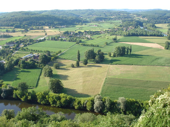 Dordogne, Frankrig: View from Domme