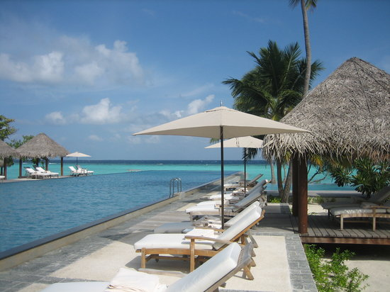 Four Seasons Resort Maldives at Landaa Giraavaru: Swiming pool1