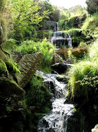Haworth, UK: Bronte Falls