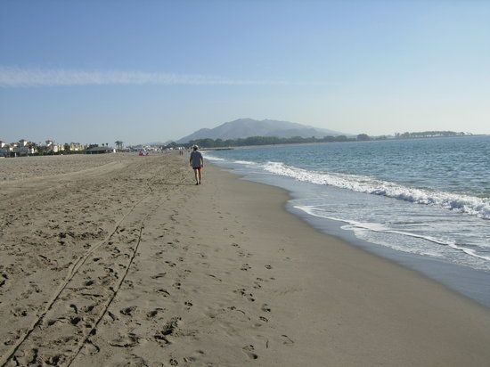 Vera, Spanien: Beach Early Morning