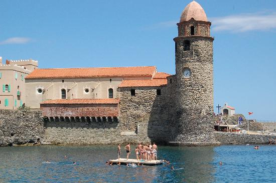 The beautiful homes in collioure picture of hotel for Les hotels francais