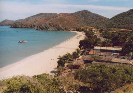 Isla Margarita, Playa Manzanillo