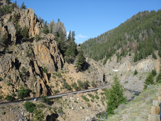 Hot Sulphur Springs, CO: Byer's Canyon at Edge of Town