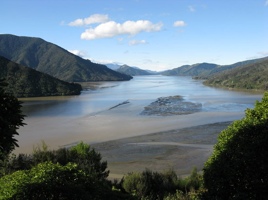 Blenheim, New Zealand: Queen Charlotte Sound