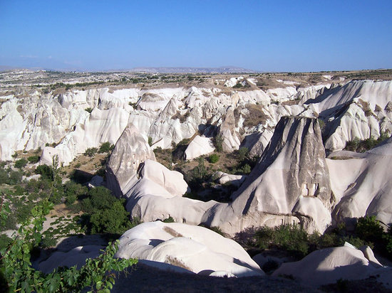 Dedeman Hotel: Paisaje tpico de Cappadocia