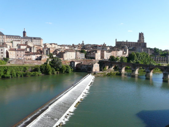 Albi, Francia: View from our room