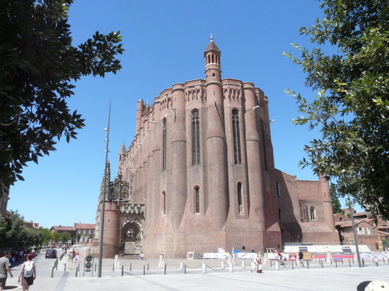 Albi, Francia: Cathedral (East end)