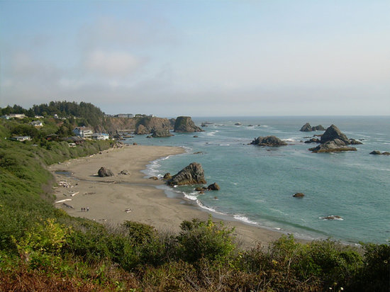 Brookings, OR: spectacular view