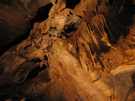 Angels Camp, Kalifornien: stalactites