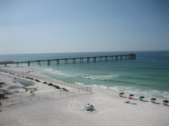 Fort Walton Beach, FL: View from our room to the West