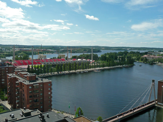 Tampere, Finland: Room view day
