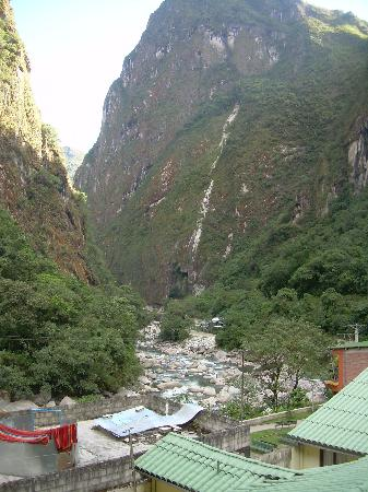 Aguas Calientes, Peru: view from the room