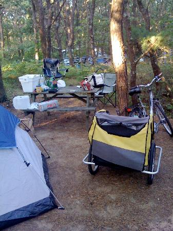 Dunes' Edge Campground: Campsite 65 B