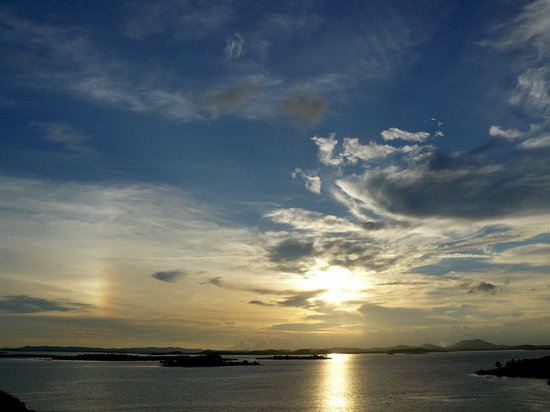 Batam, Indonesia: sunset over Nongsa