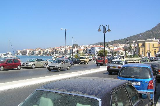 Samos Town Harbour - Picture of Samos Town, Samos ...