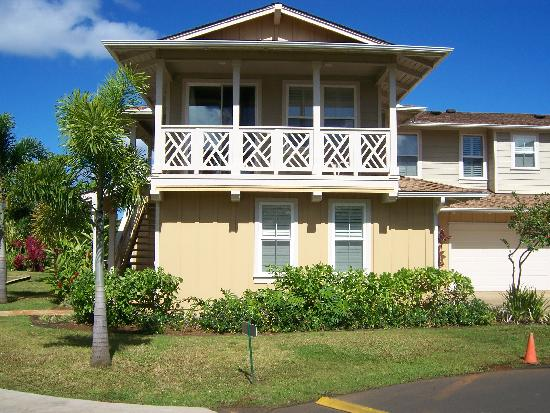 Nihilani at Princeville: The exterior of condo 18C