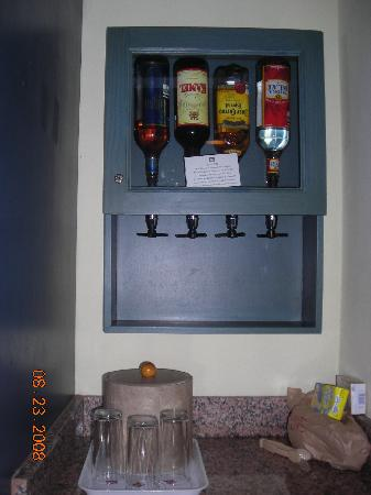 What Is A Liquor Dispenser In A Hotel Room