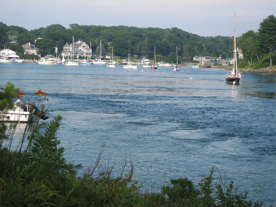 York, ME: Harbour in front of Dockside B&amp;B