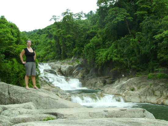 Yang Bay Waterfalls 40km from Nha Trang