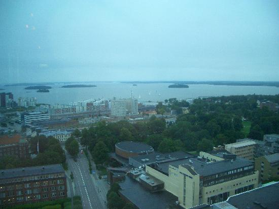 Vsters, Svezia: View from Sky Bar to lake Mleren