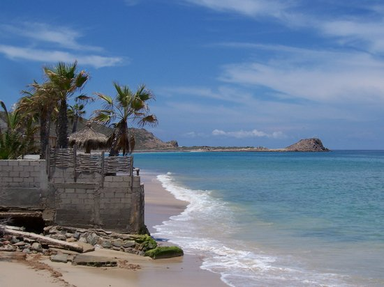 Cabo Pulmo, Mexico: View of the Pulmo beach