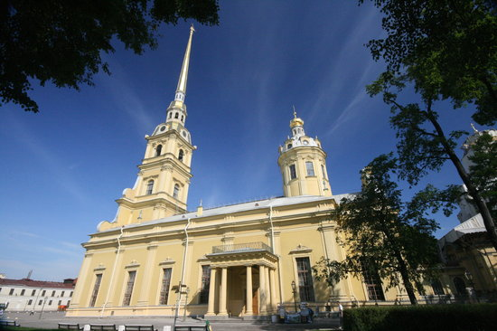 Peter And Paul Cathedral St Petersburg Russia Hours