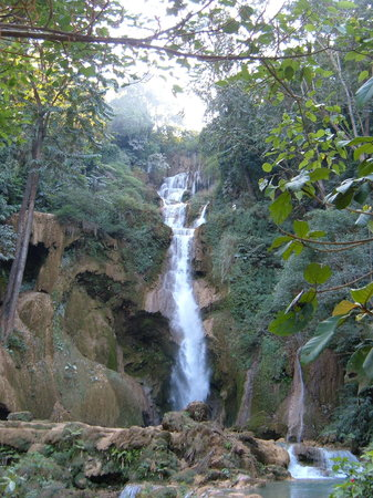 Luang Prabang, Laos: Tad Kwang Si waterfall