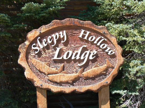 Insegna Sleepy Hollow Lodge