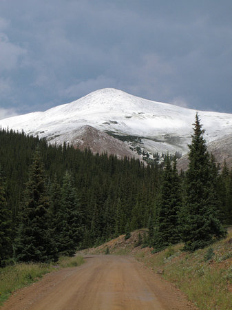 ‪‪Breckenridge‬, ‪Colorado‬: Mt. Baldy from Boreas Pass Road‬