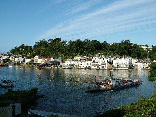 Fowey, UK: From the terrace