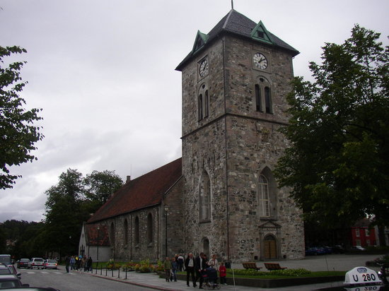 Trondheim, Norvège : Var Frue Kirke - Church of Our Lady