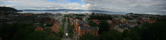 Trondheim City Centre - Panoramic View