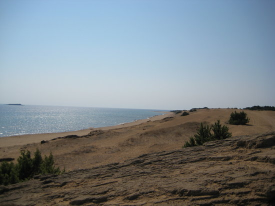 Agios Georgios, กรีซ: the deserted part of the beach