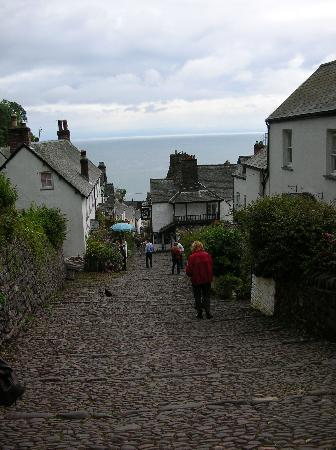 Gasse von Clovelly