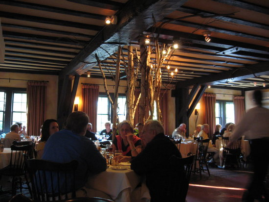 Pretty dining room picture of old mill south egremont tripadvisor