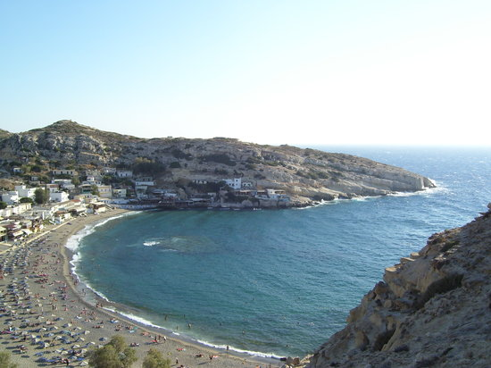 Matala, Grecia: SPIAGGIA 2