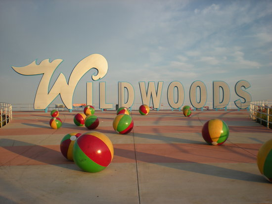 wildwoods sign