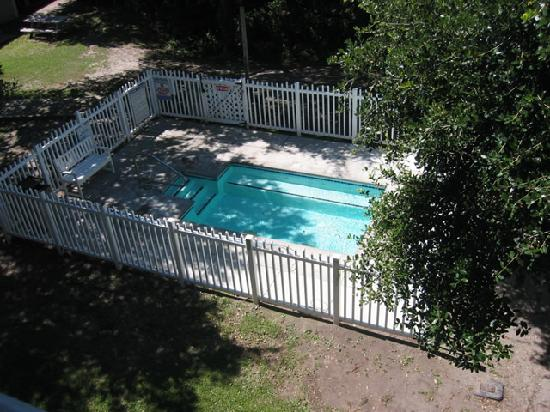 view of hottub from our balcony picture of peppertree. Black Bedroom Furniture Sets. Home Design Ideas