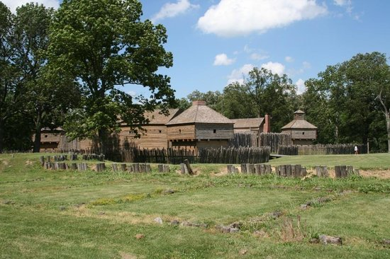 , : Fort Massac State Park-  Metropolis Illinois