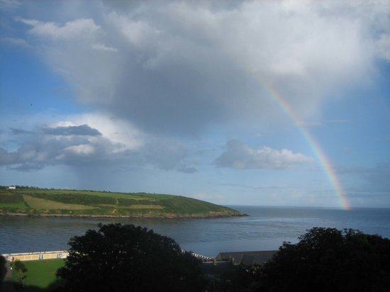 Youghal, Irland: Views from the aparment