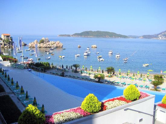 Sveti Stefan, Montenegro: View from the hotel