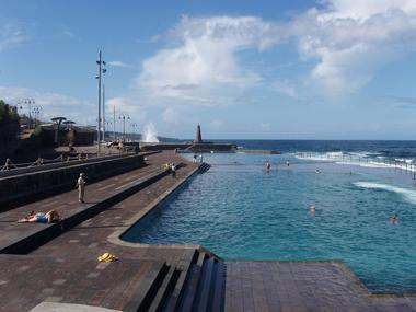 Bajamar's sea pools