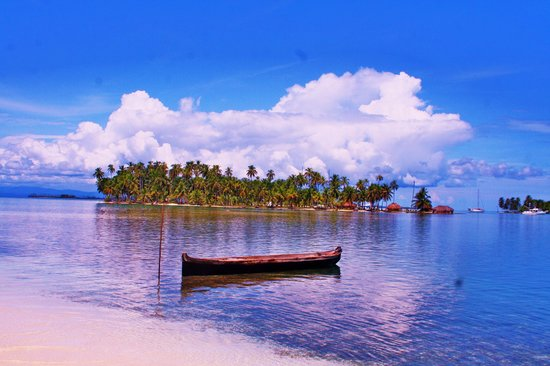 San Blas-øyene, Panama: One of the 365 island (Kuna Yala)