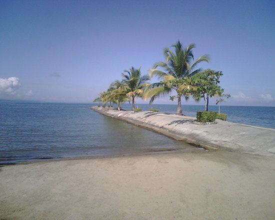 Puerto Barrios, Guatemala : beach